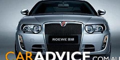 Chinese take away MG Rover