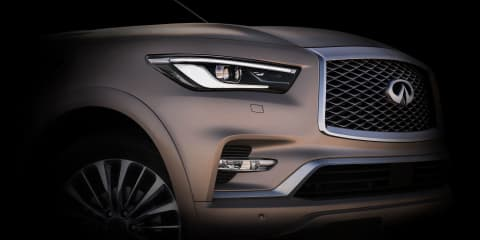 2018 Infiniti QX80 teased ahead of Dubai debut