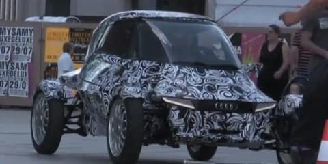 Video: Audi E1 e-tron city concept spotted in Berlin