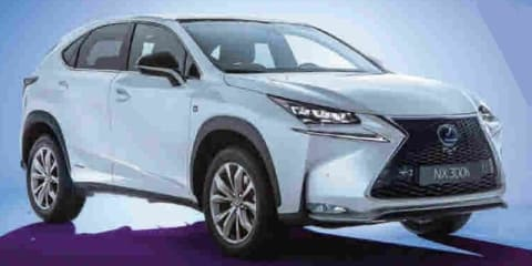 Lexus NX revealed :: all-new SUV revealed in 300h F Sport guise