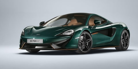 McLaren 570GT 'XP Green' by MSO revealed
