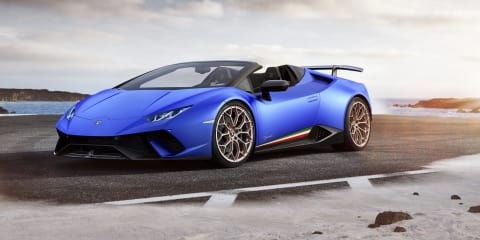 2018 Lamborghini Huracan Performante Spyder revealed - UPDATE