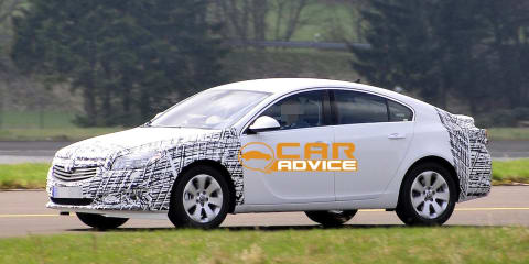 Opel Insignia facelift spy shots