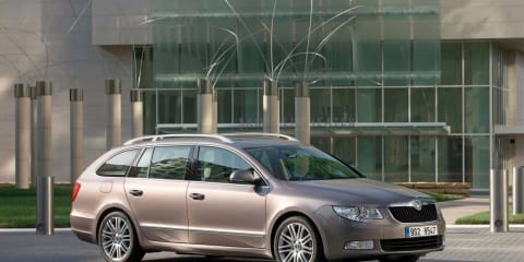 2010 Skoda Superb Wagon launched in Australia