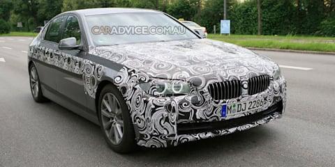 2009 BMW 5 Series sedan spied