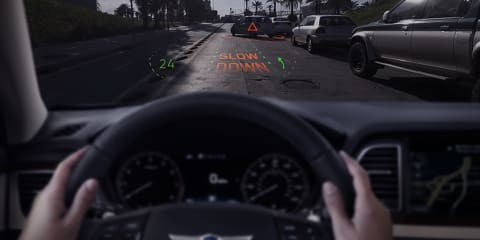 Genesis reveals holographic AR display at CES