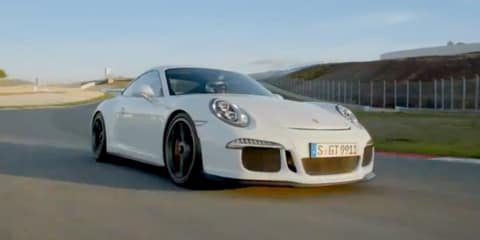 Porsche 911 GT3: new road-racer hits the track