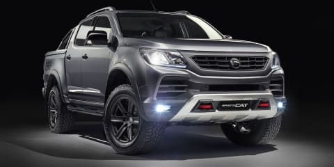 Holden Colorado SportsCat By HSV review