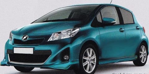 2012 Toyota Yaris pictures leaked?