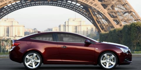 GM says Cruze coupe, US Commodore export under consideration