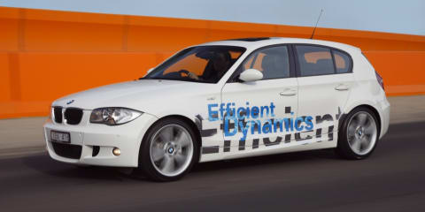 BMW 120d Efficient Dynamics Challenge