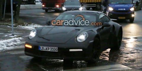 2019 Porsche 911 Turbo spied