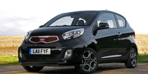 2012 Kia Picanto three-door revealed