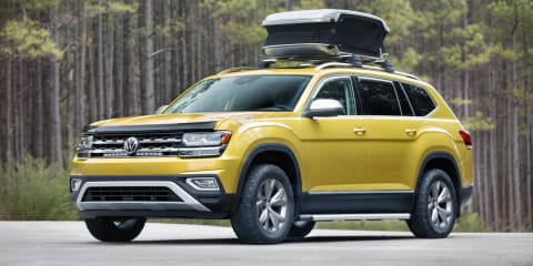 Volkswagen Atlas off the table for Australia