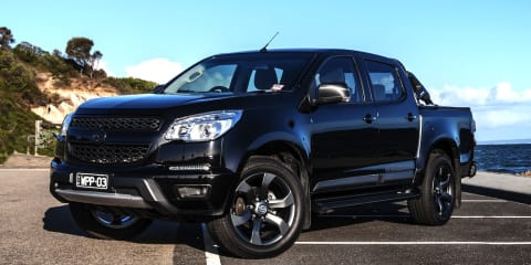 Holden Colorado gets Walkinshaw upgrades
