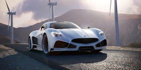 Mazzanti Evantra V8 to debut in Monaco