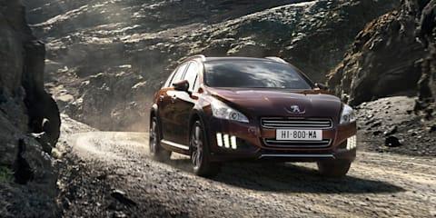 Peugeot 508 RXH Diesel-Electric Hybrid