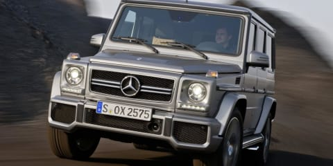 2013 Mercedes-Benz G63 AMG: tougher looks for twin-turbo SUV