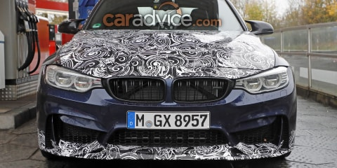 BMW M3 CS spied during testing