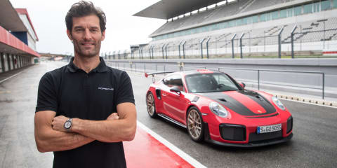 "Mark Webber: ""I've always been a Porsche guy. Even when I had to pay for them myself."""