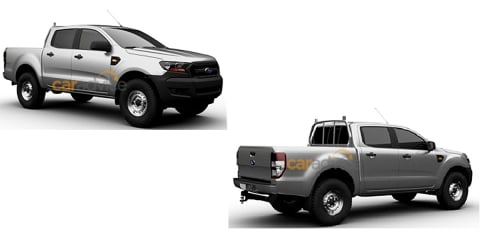 2015 Ford Ranger line-up patent images leaked
