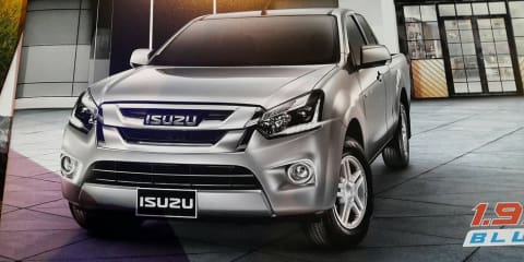 Isuzu D-MAX update revealed : New design, transmissions, possible 1.9 diesel option