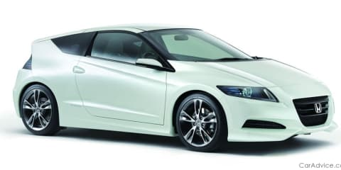 Honda CR-Z sports hybrid concept nears production
