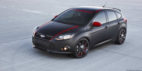 Ford Focus FSWerks, 3dCarbon concepts at LA Auto Show