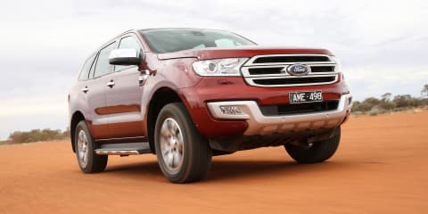 2018 Ford Everest recalled