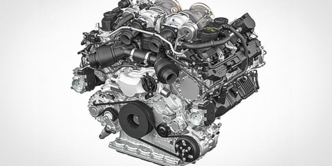 Porsche reveals new twin-turbo V8 for Panamera, Audi and Bentley to follow