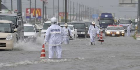 Toyota and Nissan stop production as Typhoon Roke hits Japan