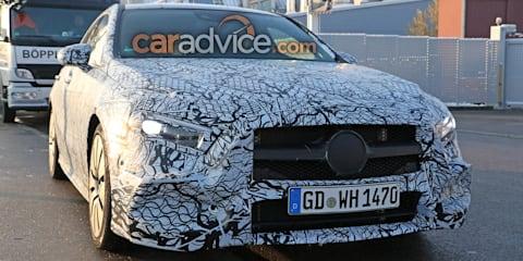 2019 Mercedes-AMG A35 sedan snapped