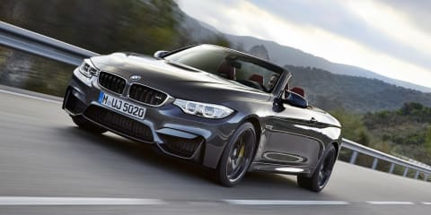 BMW M4 Convertible: 4.4sec twin-turbo drop-top lobs from $178,430