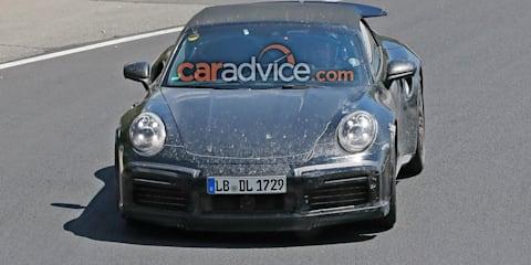 2019 Porsche 911 Turbo Cabriolet spied