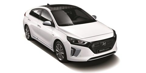 Hyundai Ioniq revealed, Australian debut set for third quarter 2016 - UPDATE