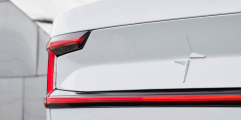 Polestar 2 teased ahead of February 27 reveal