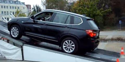 Video: Audi Q5 versus BMW X3 four-wheel drive system test