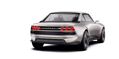 Peugeot e-Legend Concept revealed