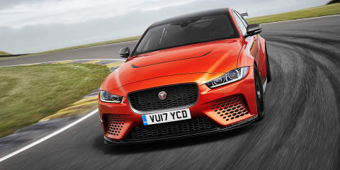 Jaguar XE SV Project 8 unleashed on Goodwood Circuit – Video
