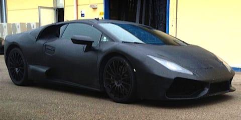 Lamborghini Gallardo replacement prototype spied