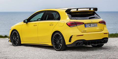 2019 Mercedes-AMG A35 a near match for current A45 performance