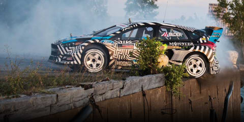 Ken Block: Electric Gymkhana coming