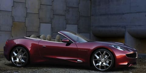 Fisker Karma new variants on the way