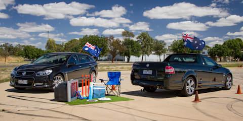 Holden Ute v Holden Sportwagon : Australia Day Special