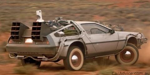 Back to the Future III DeLorean up for auction