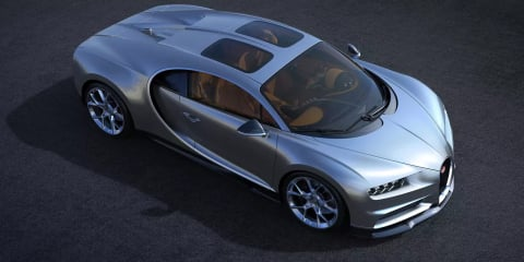 Bugatti Chiron gains 'Sky View' option
