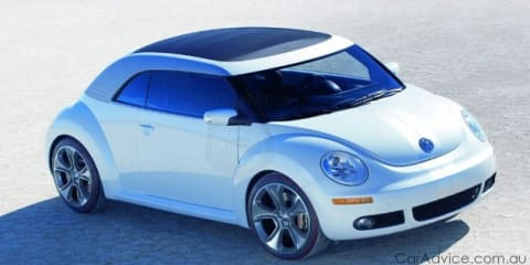Volkswagen New Beetle revision set for early 2011
