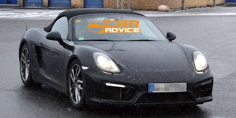 Porsche Boxster, Cayman GTS: hardcore twins spied