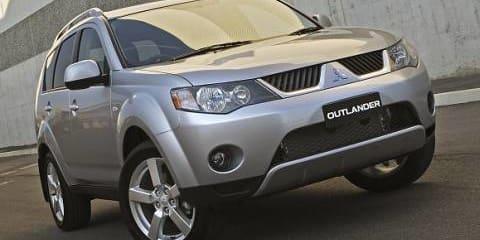 2007 Mitsubishi Outlander SUV ZG 07 MY