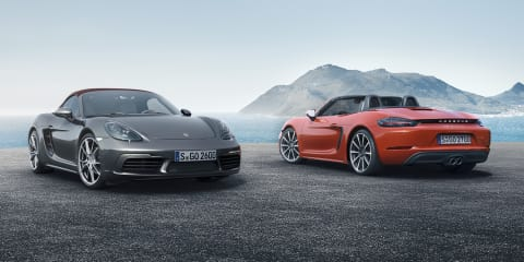 2016 Porsche 718 Boxster pricing and specifications